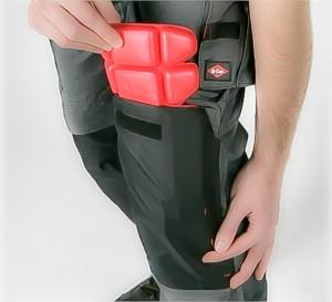 Kniebescherming deltavliegen