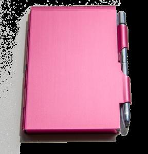 Logboek-roze-dicht